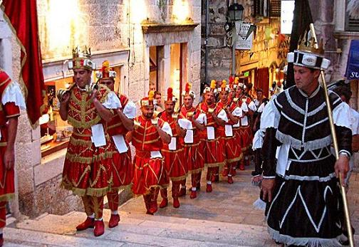 Arts and Culture in Korcula Dalmatia Croatia