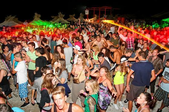 Entertainment and Nightlife in Makarska Dalmatia Croatia