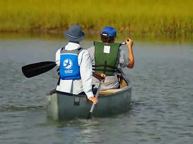 Canoe trip with CBF