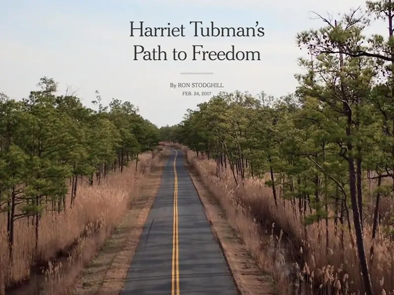 Tubman Byway in New York Timess