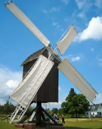 Spocott Windmill; courtesy Spocott Foundation
