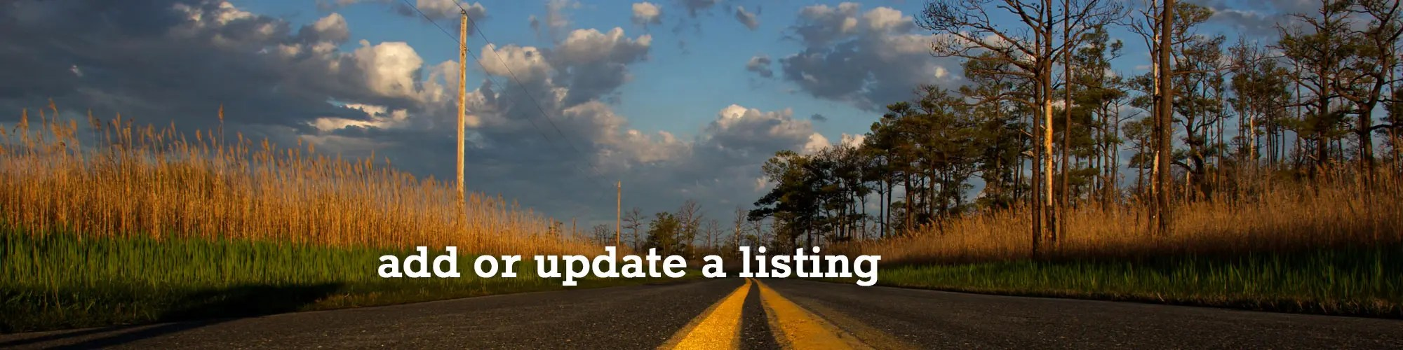 update your listing