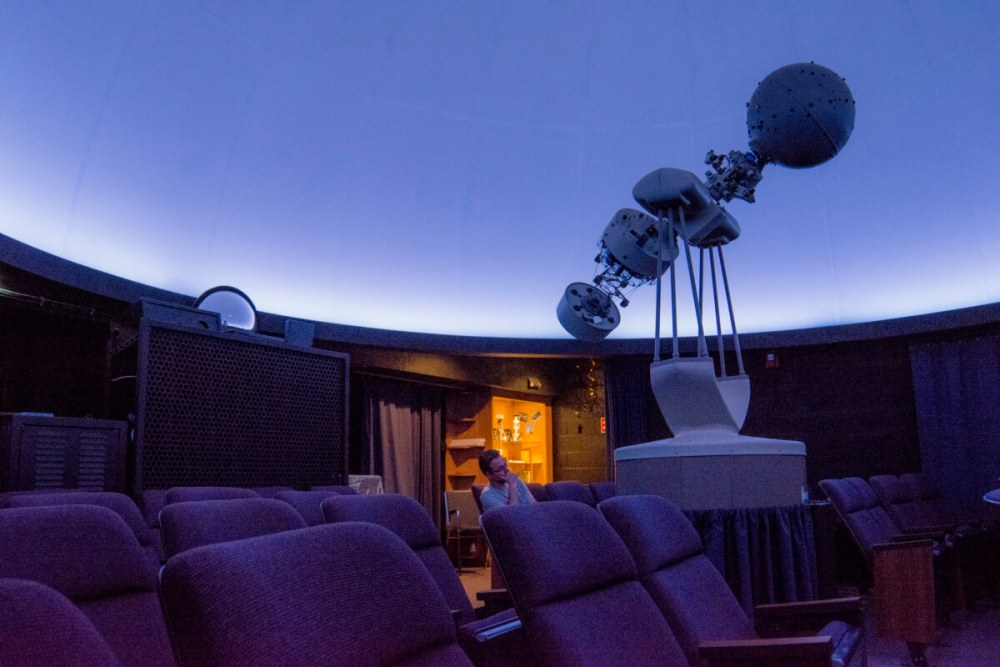 Peterson Planetarium Dome