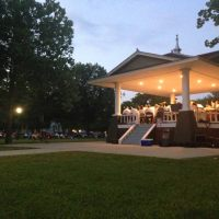 municipal band concert in freemont park