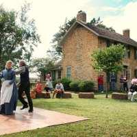 history celebration at Howe House