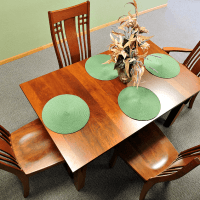 dining table at amish woodwork