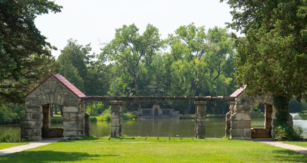 Peter Pan Park Structure