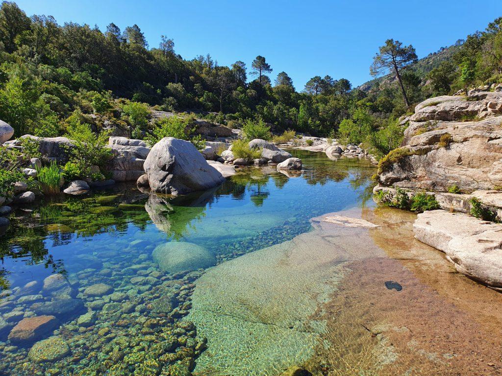 Bassin des Piscines de Cavu