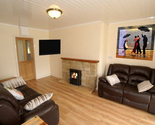 Bridgetown Cottage Kerrykeel - living room