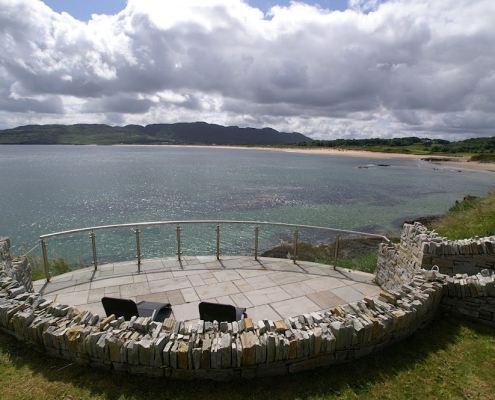 Golf Lodge at Portsalon Donegal - Ballymastoker bay