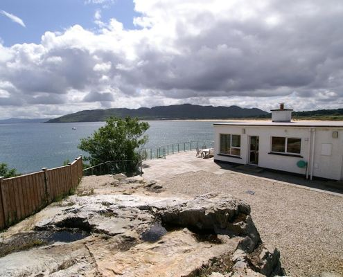 Golf Lodge at Portsalon Donegal - spectacular views