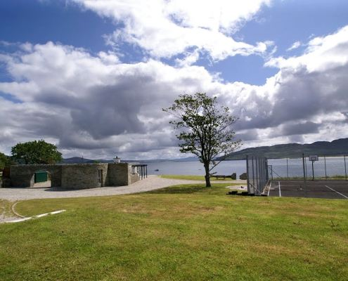 Golf Lodge at Portsalon Donegal - views over Lough Swilly