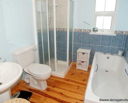 bathroom of holiday home