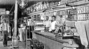 Inside of Koehler's Store, 1897