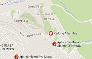 Alhambra parking