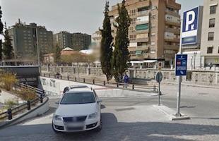 Geysepark parking Granada