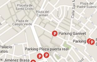 Parking Ganivet Granada