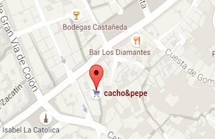 Cacho and Pepe granada