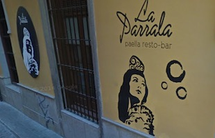 Granada La Parrala Paella Resto Bar