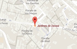 Jardines de Zoraya granada