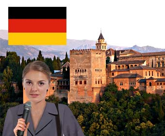 Alhambra Guided German Tour
