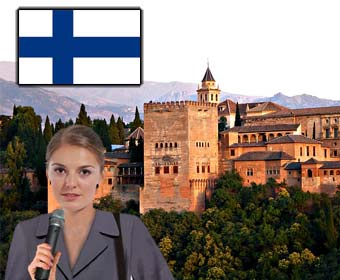Alhambra Guided Finnish Tour