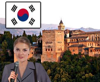 Alhambra Guided Korean Tour