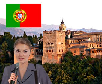 Alhambra Guided Portuguese Tour