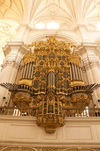 Organ Granada Cathedral