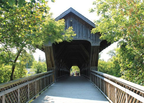 The Covered Bridge - Photo by Alanna Gurr