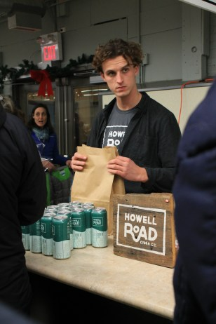Howell Road cider - always a hit! from Brantview Apples and Cider