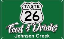 Taste on 26 restaurant logo in Johnson Creek Wisconsin