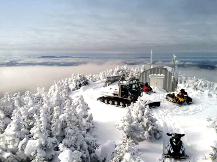 Coburn Mountain Snowmobile Trail