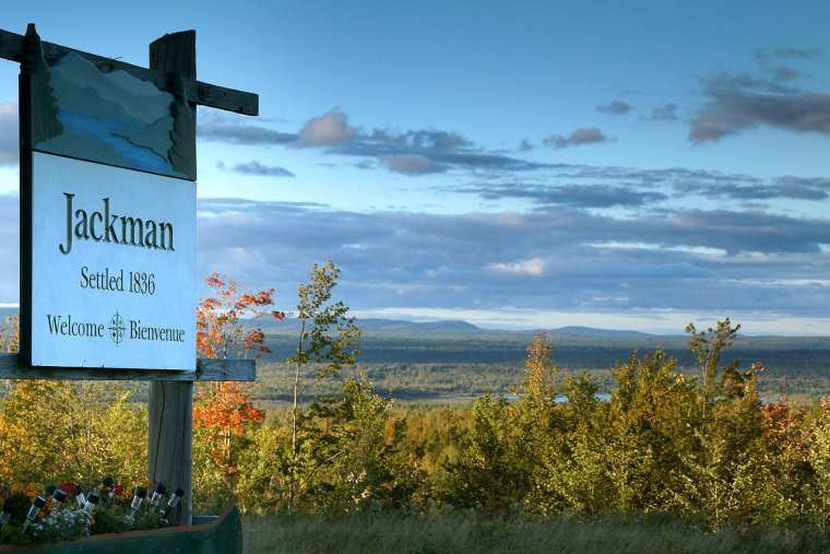 Jackman is one of the last towns on Route 201 before the Canadian Border.