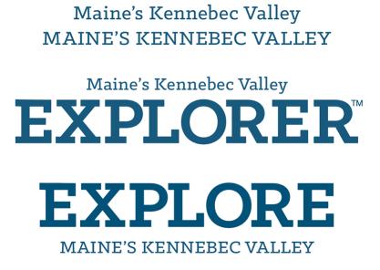 Maine's Kennebec Valley wordmark