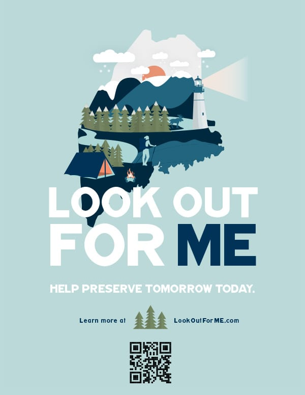 Look Out For ME, Help preserve tomorrow today.