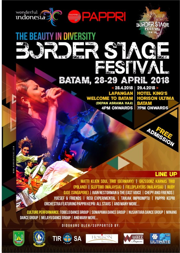 Border Stage Festival - Welcome to Batam dan Hotel King's Horison Ultima Batam