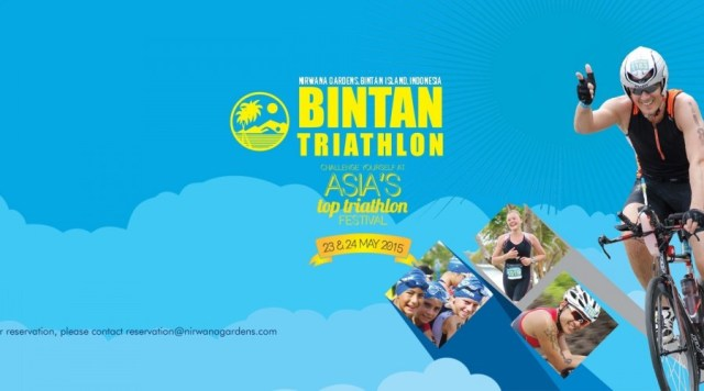 Calendar of Event 2018 - Wonderful Riau Islands - April Mei Kepri Penuh Event - Bintan Triathlon 2018 tanggal 11-13 Mei 2018 (sumber gambar Nirwana Garden)