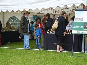 Knighton Tourism Group Marquee Hire