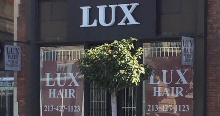 Lux Hair in Koreatown