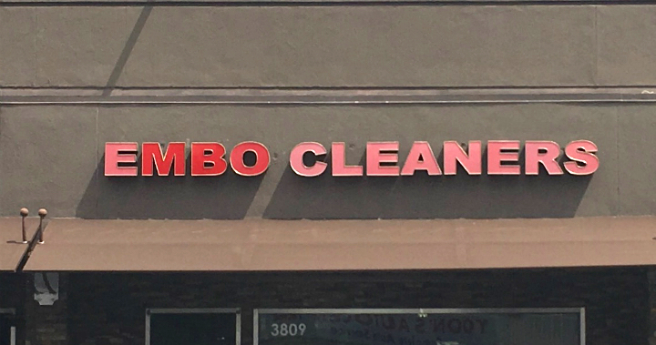 Embo Cleaners in LA