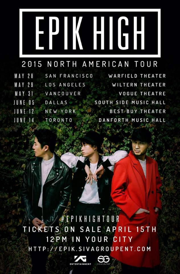 Epik High: Wiltern, Koreatown LA 2015