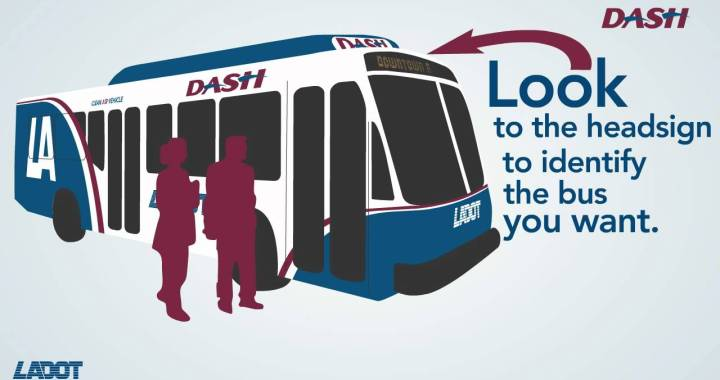 LADOT DASH Bus