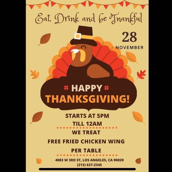 Saekdong Jogori Thanksgiving promo