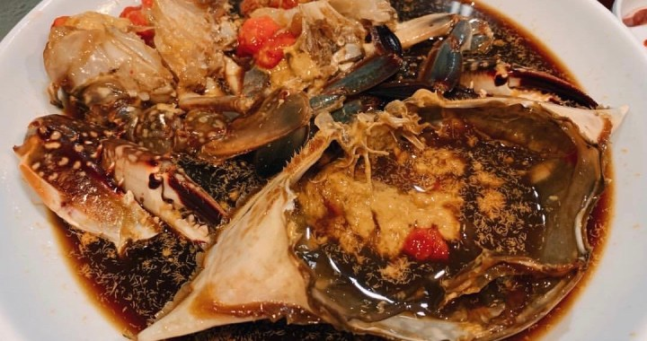 Koreatown seafood restaurant