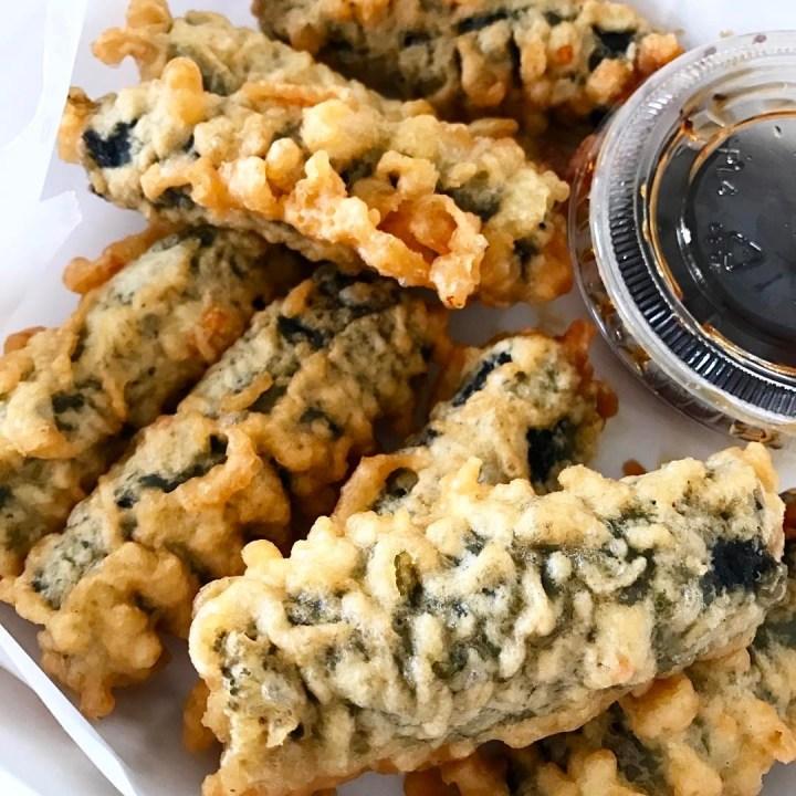 Kimmari with sauce