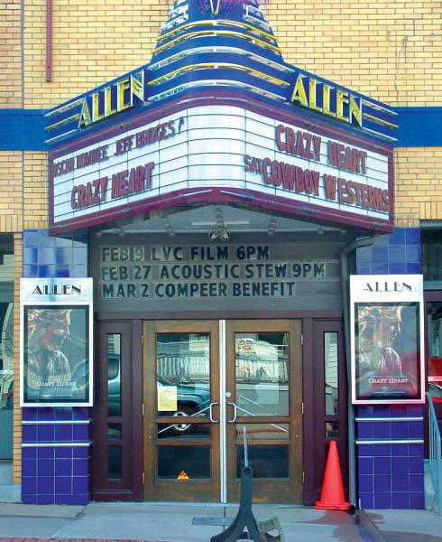 The Allen Theatre and Coffee House