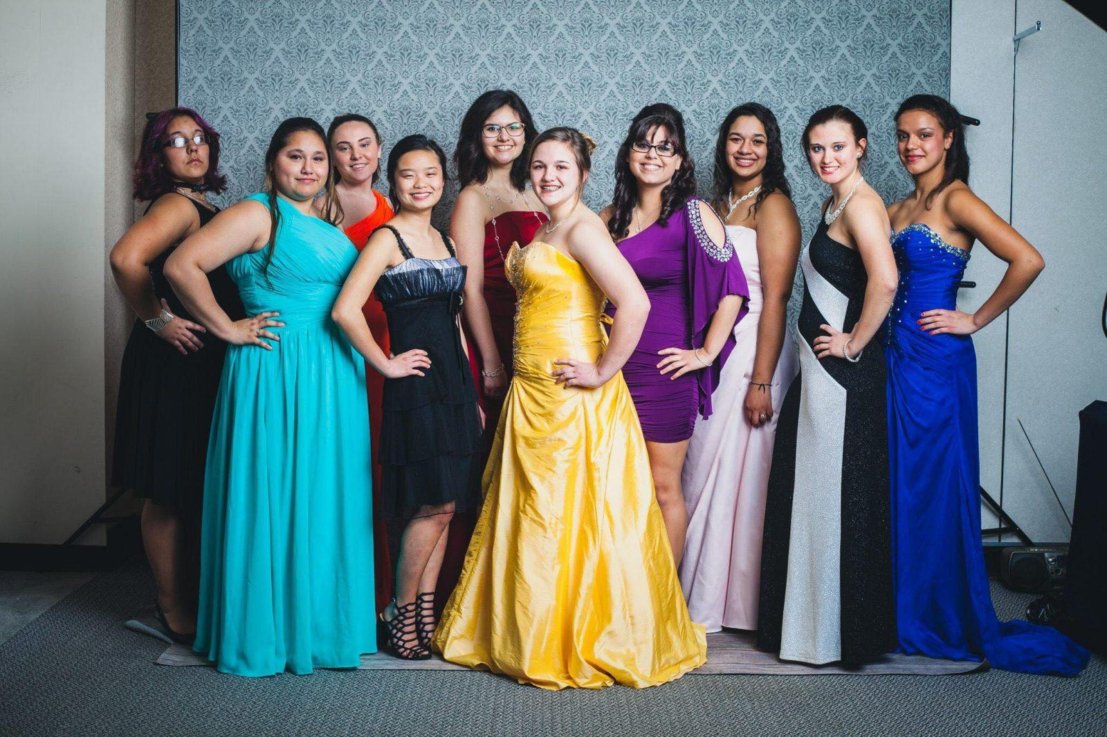 Prom Dresses Glass