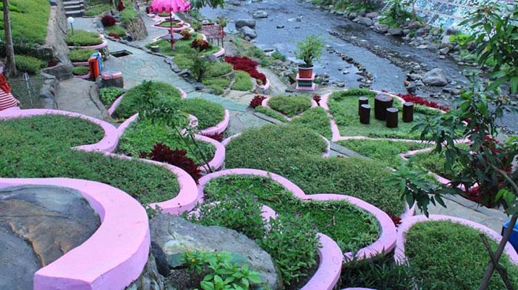 Pesona Taman Bunga Seribu Cinta Lagi Ngehits di Magelang