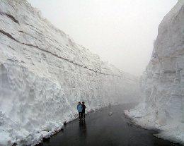 乗鞍の「雪の壁」を体験して来ました